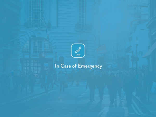 ICE ICE baby, (In Case of Emergency) (Concept)